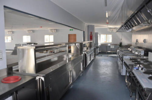Happy Tappy Commercial Kitchens Gallery - 040 Full Kitchen View Stainless Furniture