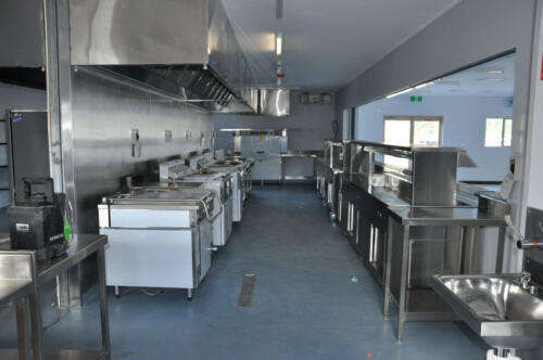 Happy Tappy Commercial Kitchens Gallery - 046 Full Stainless Kitchen Setup