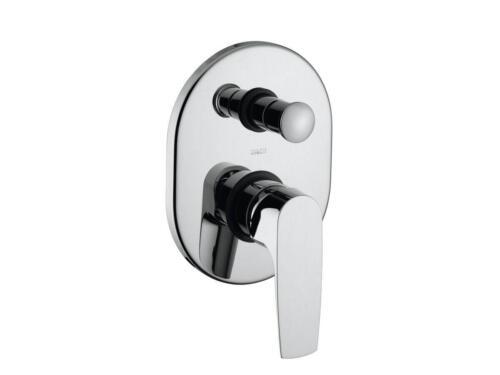 Happy Tappy Gallery Posh Bristol Range of Tapware - POSH Solus MKII Shower Bath Mixer with Diverter Chrome Oval