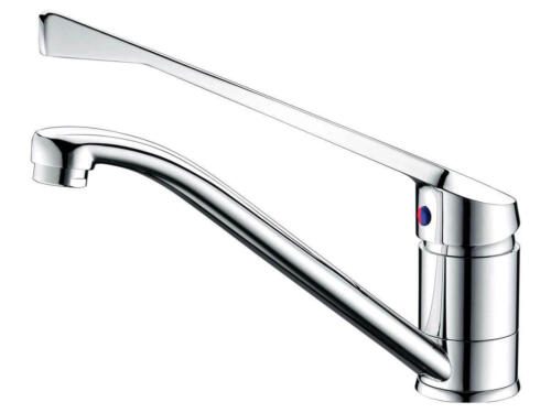 Happy Tappy Posh Accessable-Aged Tapware Posh Bristol MK2 Sink Mixer with Extended Lever Chrome and Extended Spout 4 Star