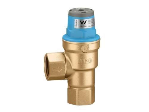 Domestic water service pressure limiting valve _ backwash filtration system